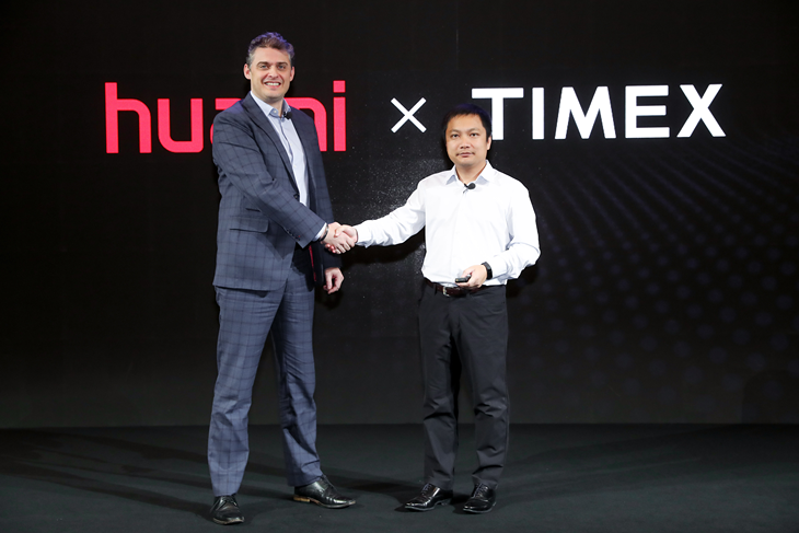 Huami and TIMEX