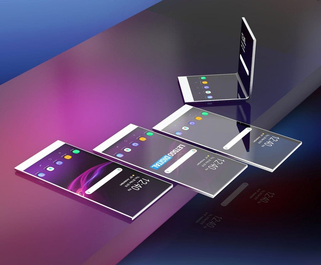 sony foldable transparent phones