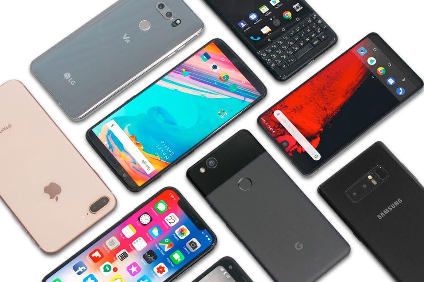 Mid-range smartphone