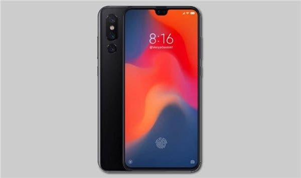 Xiaomi Mi 9 rendering