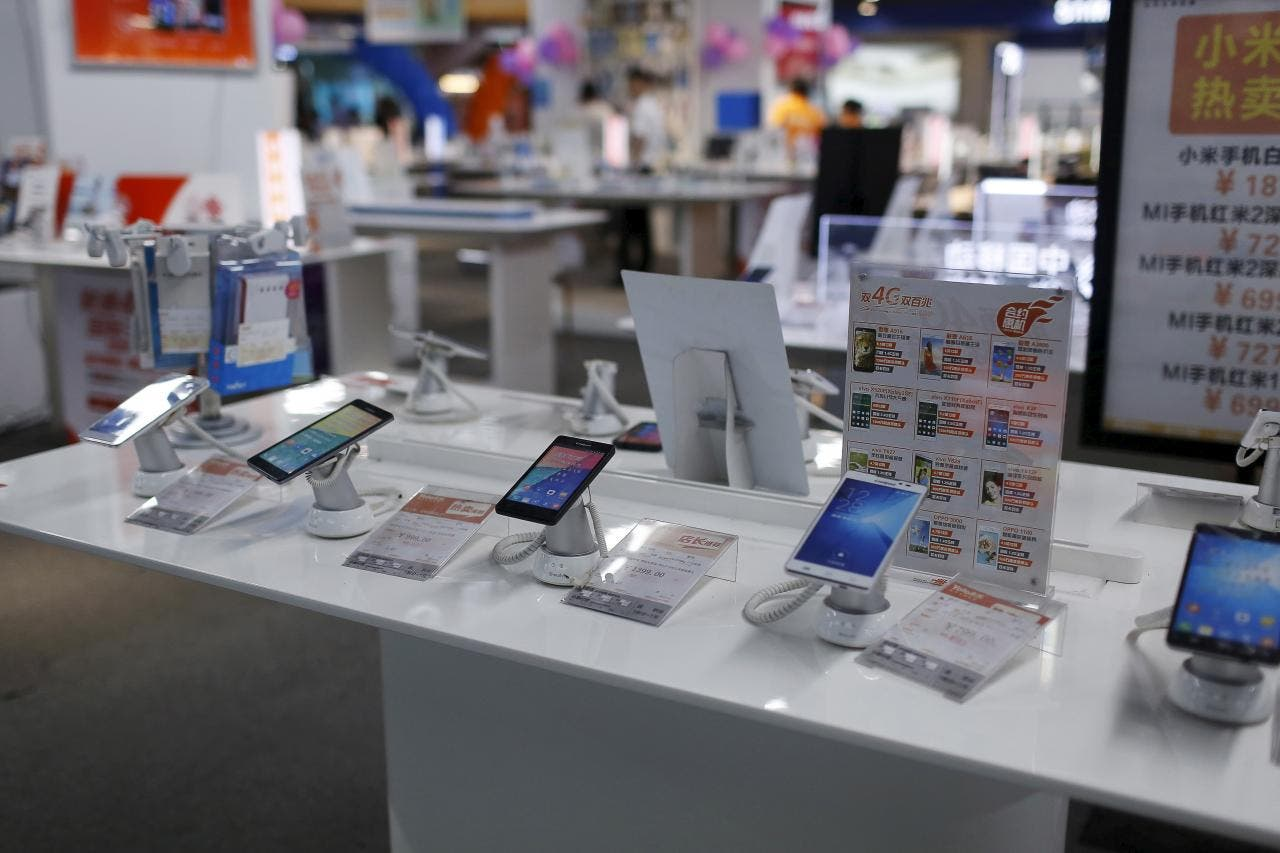 China Smartphone Shipments report