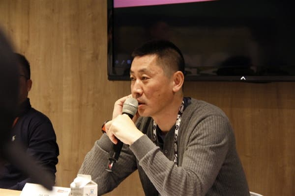Lenovo's Vice President speaking on Xiaomi M 9