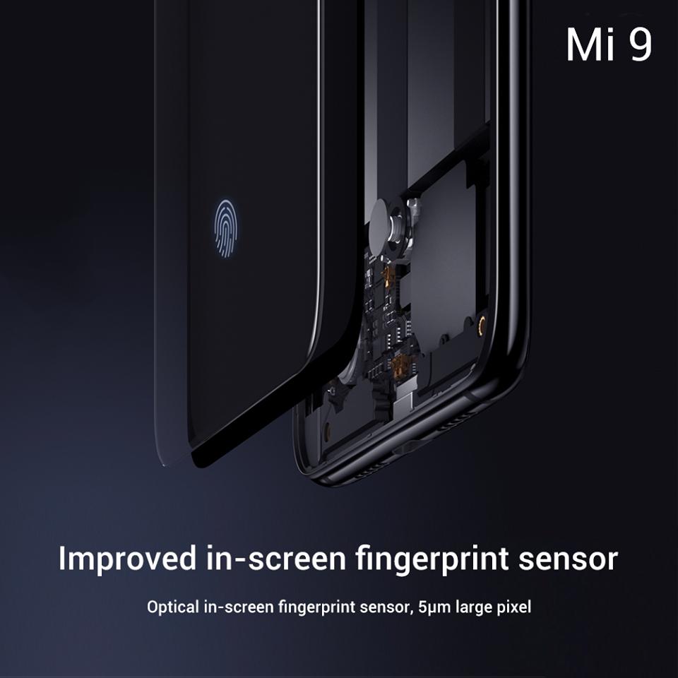 Mi 9 Fingerprint