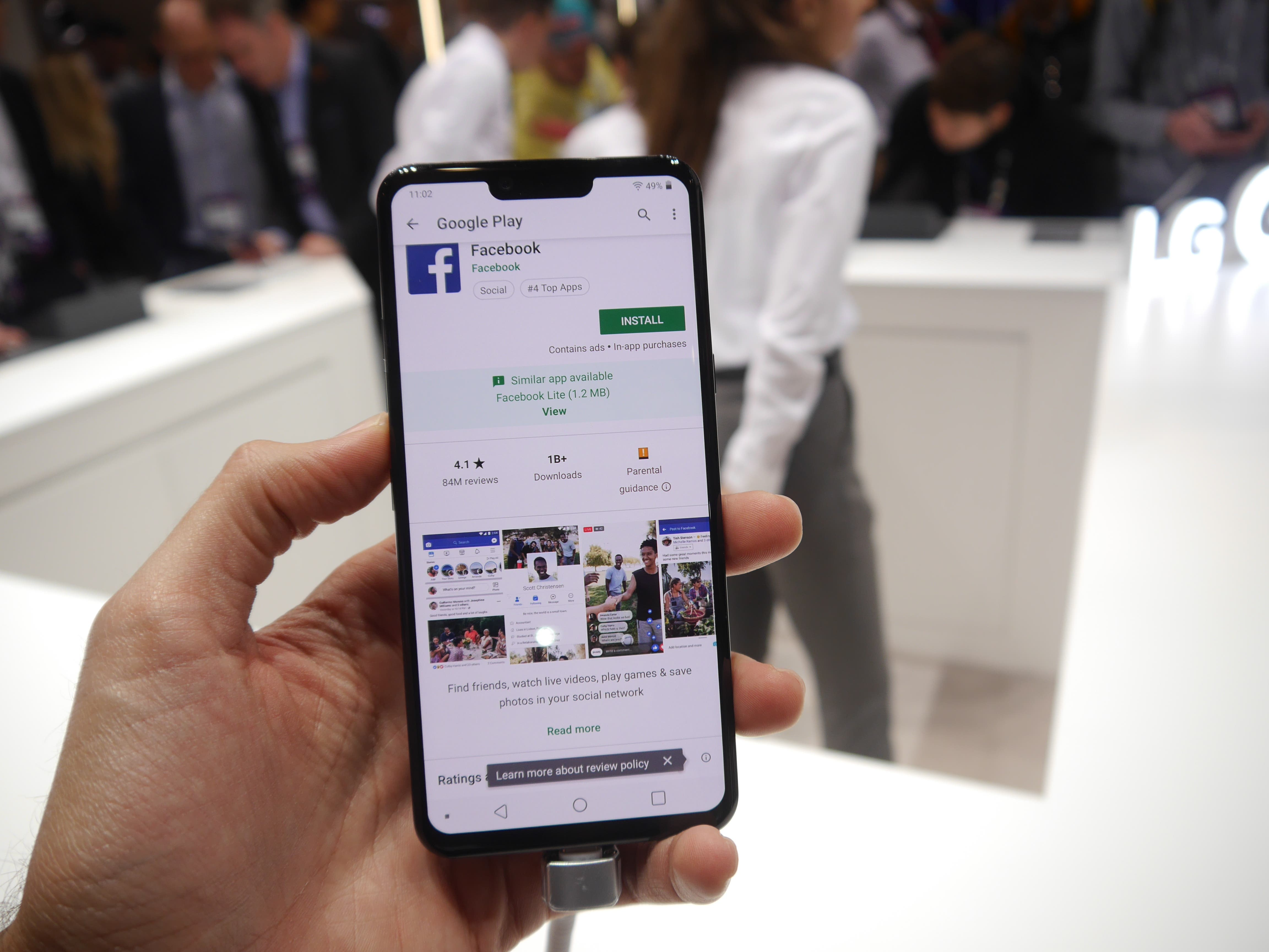 LG G8 ThinQ Hands-On From MWC 2019