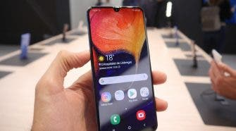 Samsung Galaxy A50 hands-on