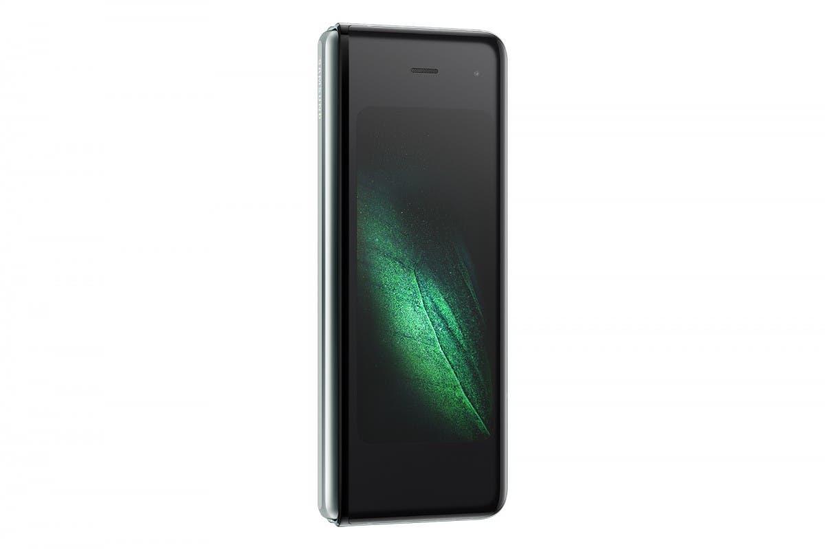 galaxy fold in phone mode