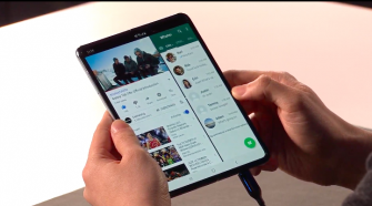Galaxy Fold foldable smartphones