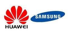 Huawei Samsung smartphones