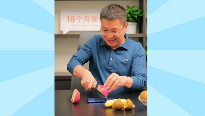 Redmi Note 7 undergoing durability test