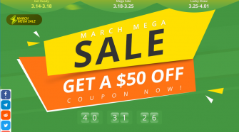 Mega March Sale