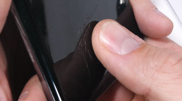 Galaxy S10 fingerprint reader