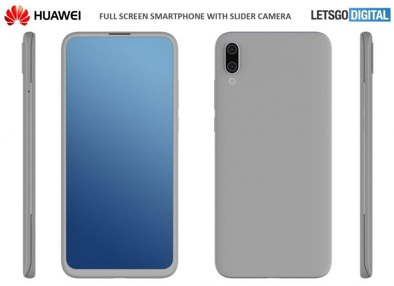 Huawei Sliding Phone