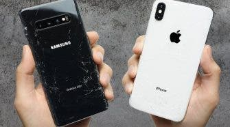 iPhone XS Max Galaxy S10+