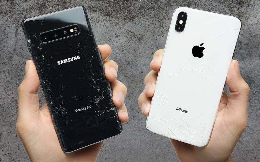 iPhone XS Max Galaxy S10+