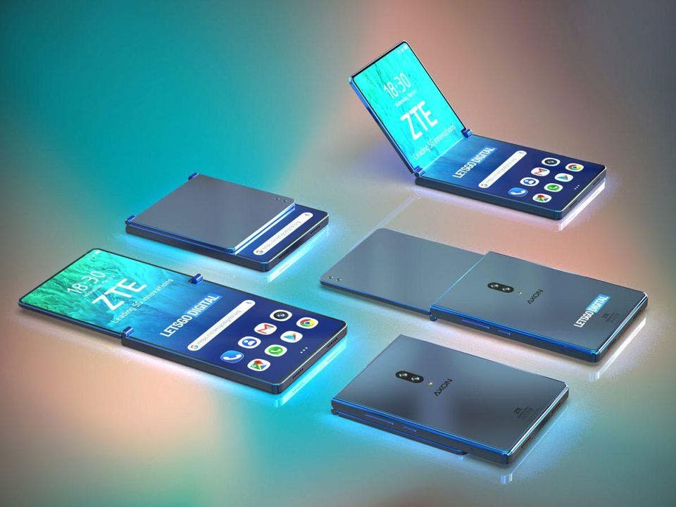 zte foldable phone