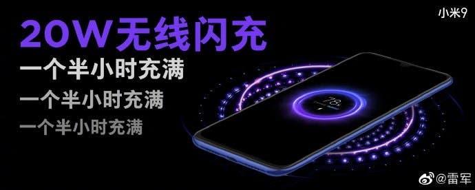 Xiaomi 20W wireless charging