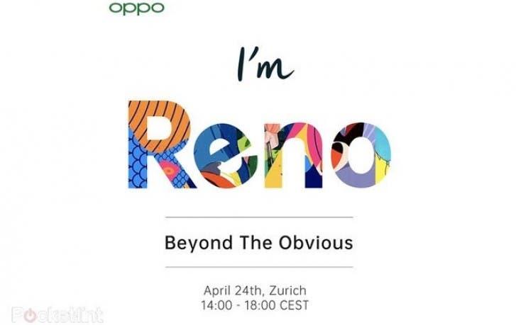 OPPO RENO 5G INVITE