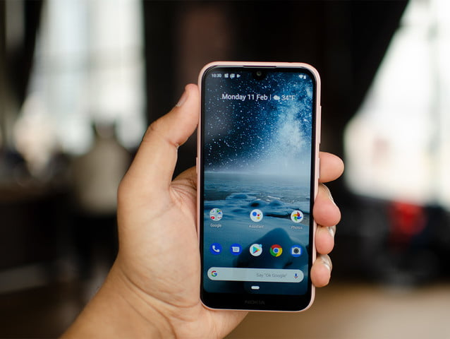 The Nokia 4.2 begins to receive the update to Android 10
