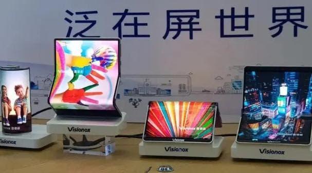 Visionox OLED display