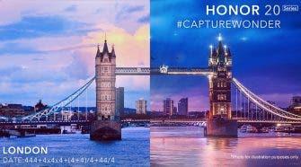 Honor 20 series london invite