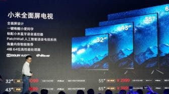 Xiaomi full-screen TV