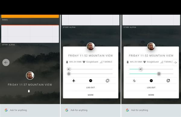 Fuchsia OS interface