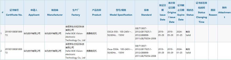 Huawei's TV