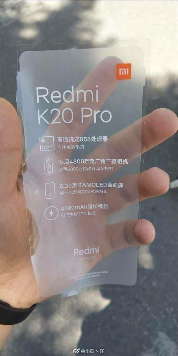 Redmi smartphone