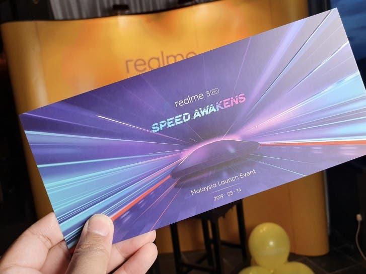 Realme 3 Pro invite