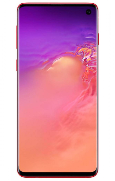 Galaxy S10 Cardinal Red
