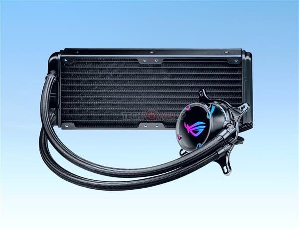 Asus ROG Strix LC liquid cooling radiator