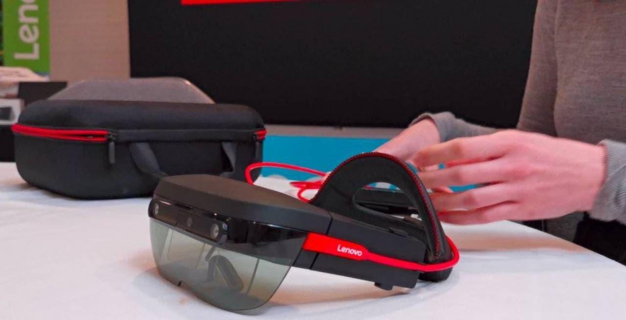 ThinkReality A6 AR glasses
