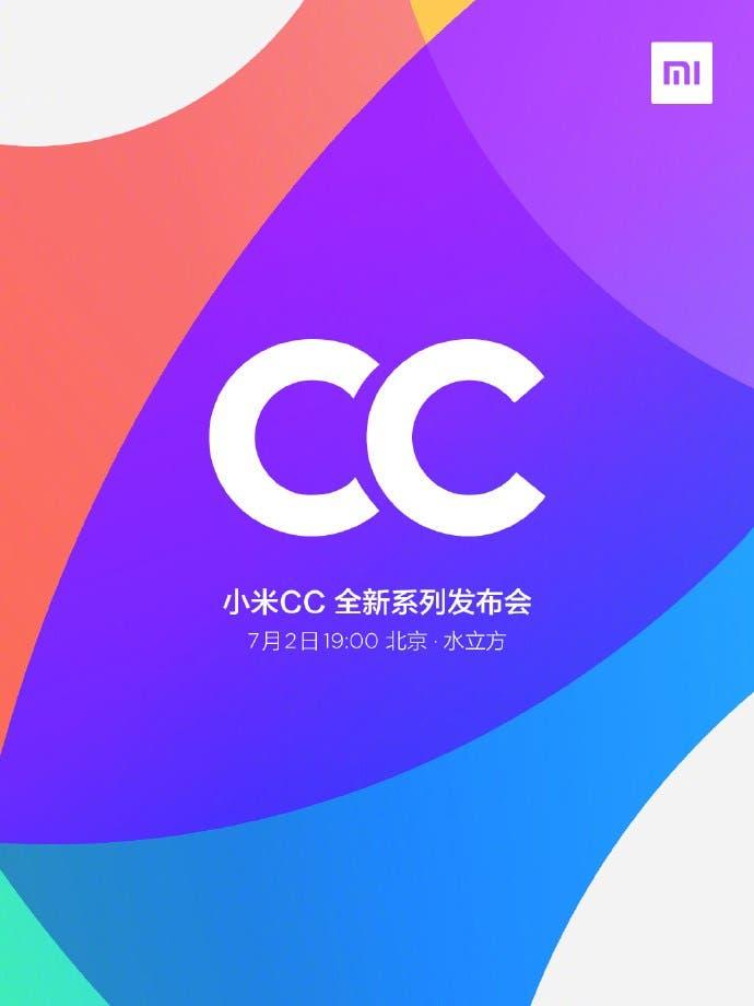xaiomi cc launch date