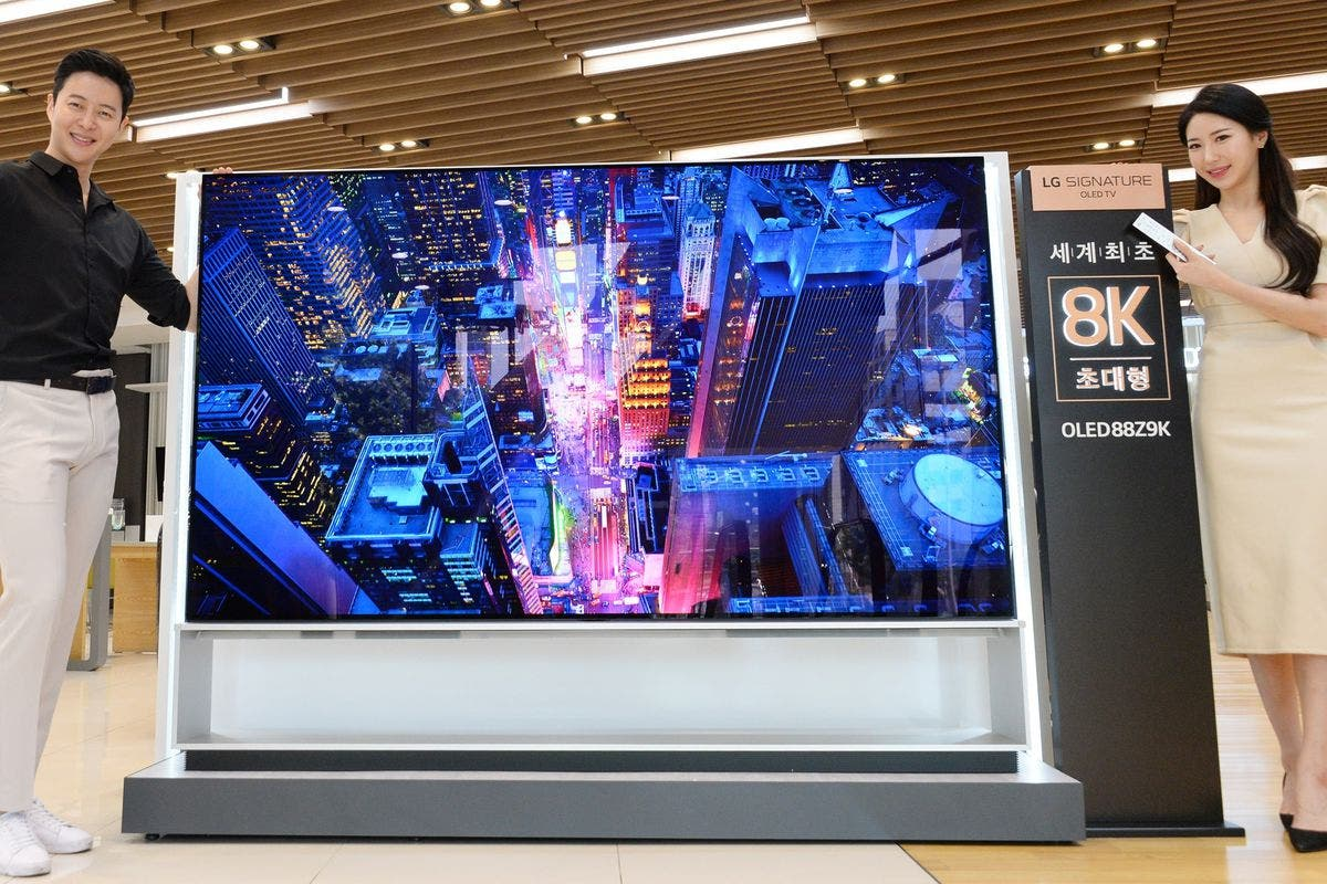 LG 88Z9 8K OLED TV
