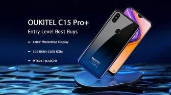 OUKITEL C15 Pro+