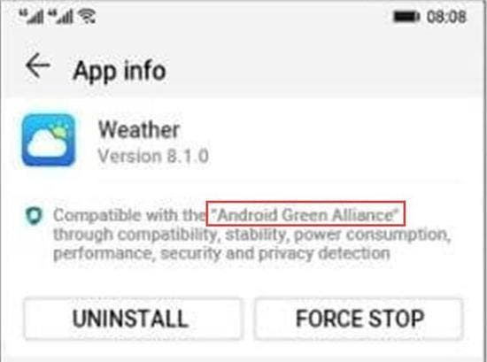 Huawei Ark OS UI