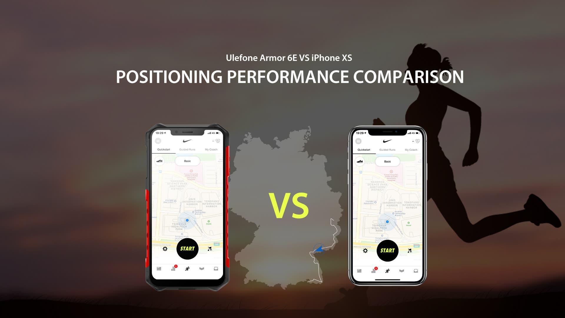 Ulefone Armor 6E VS iPhone XS