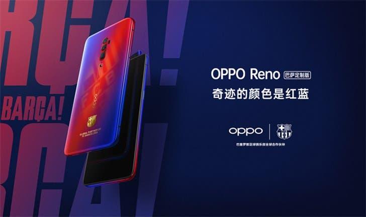 OPPO Reno Barcelona Custom Version