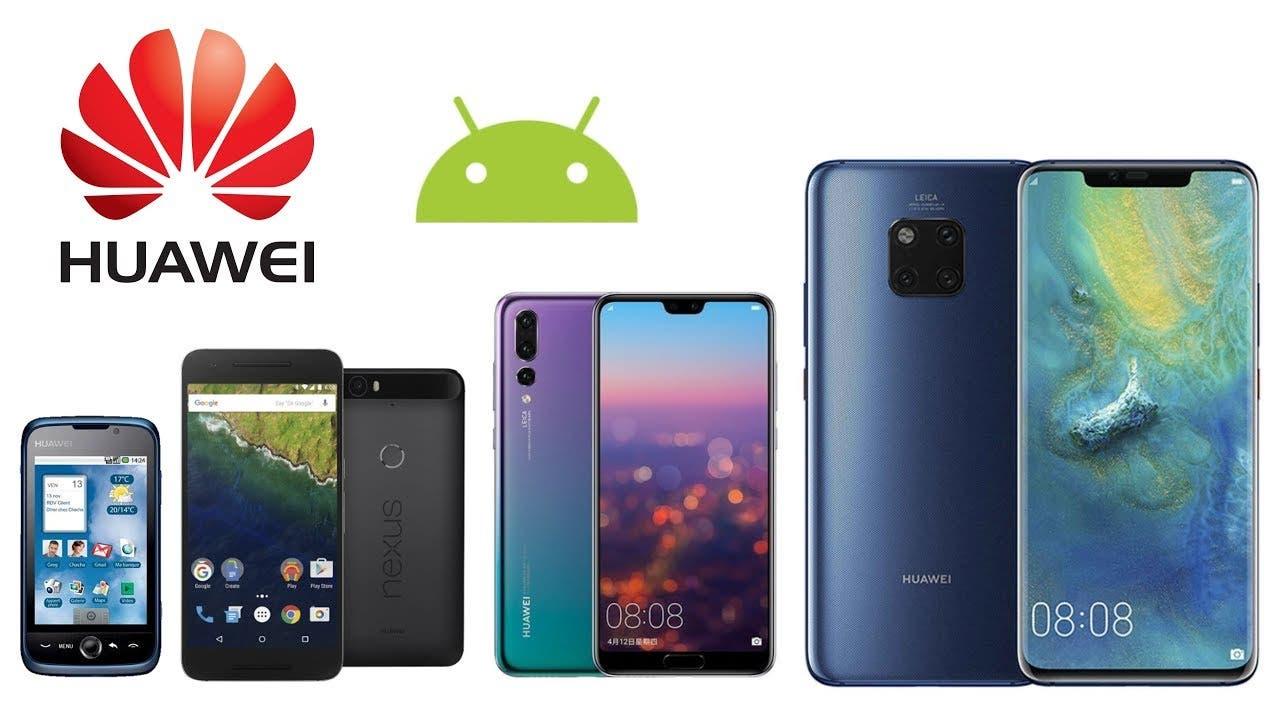 Huawei's mobile phone shipments