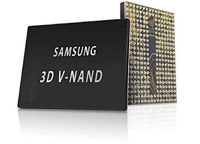 Samsung NAND flash memory