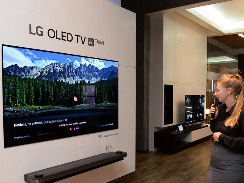 LG AI ThinQ series TV