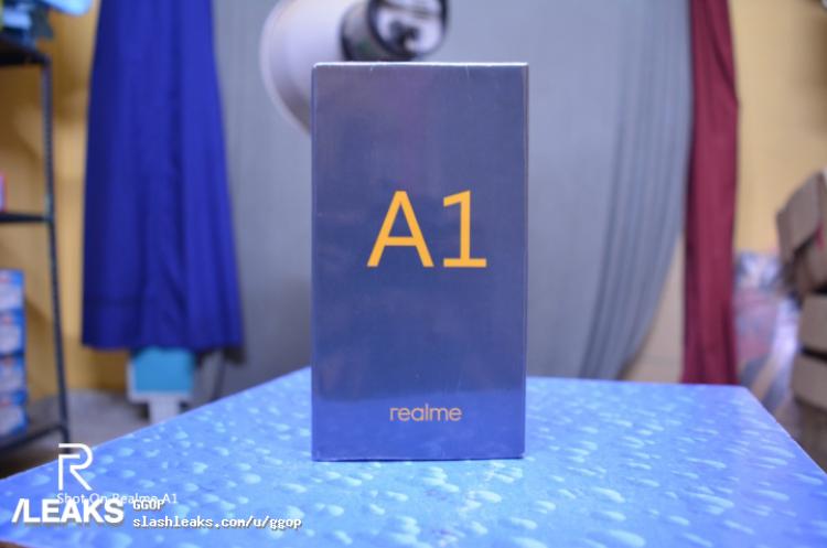 Realme A1 retail box