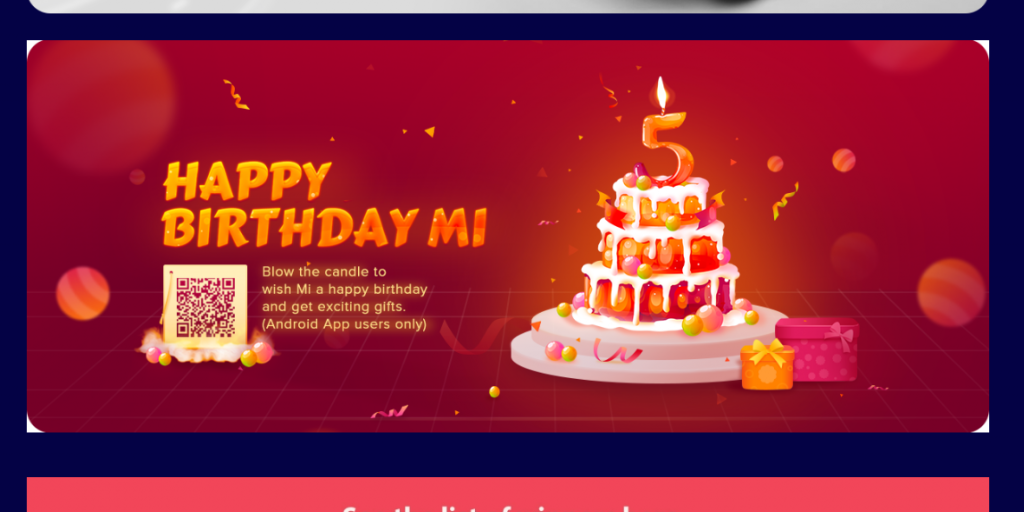 mi fifth anniversary sale
