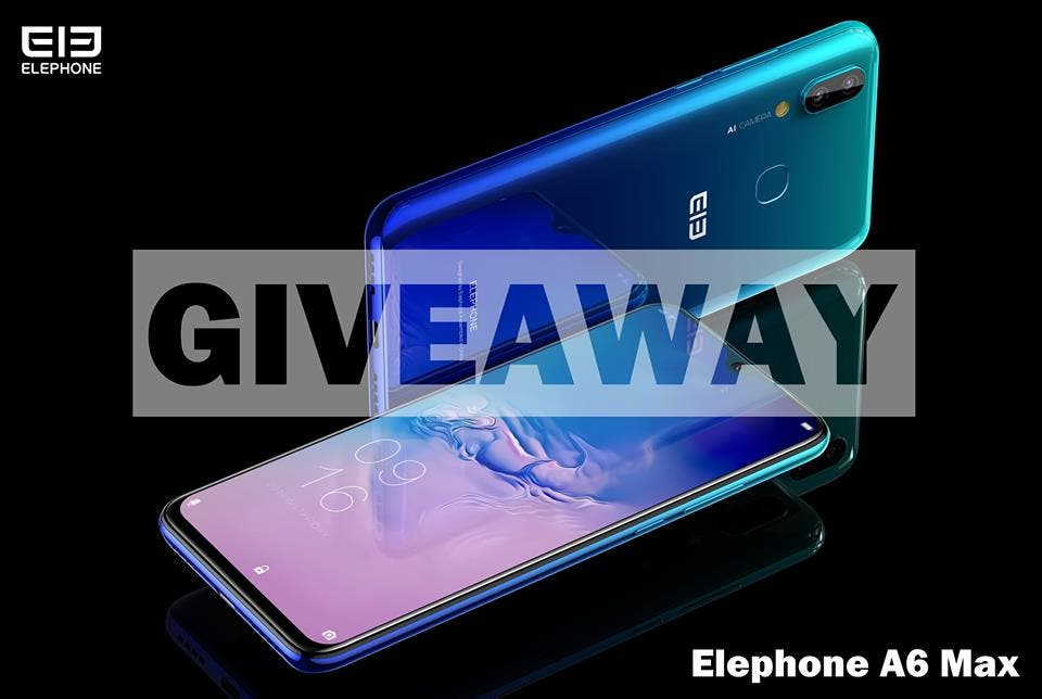 Elephone A6 Max giveaway