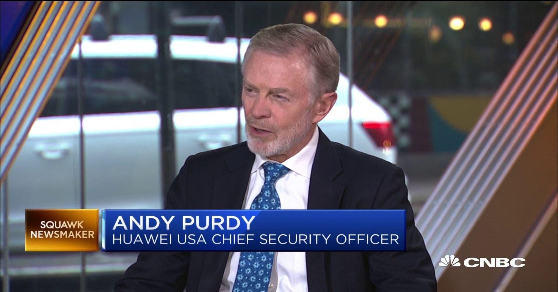 Huawei Andy Purdy