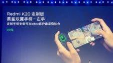 Redmi K20 game controller