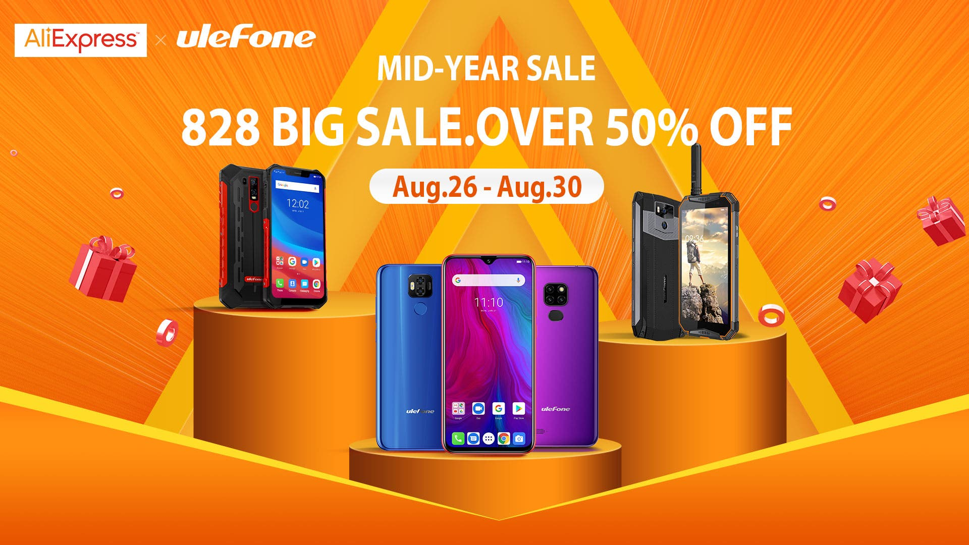 Ulefone Global Mid-Year Shopping Festival