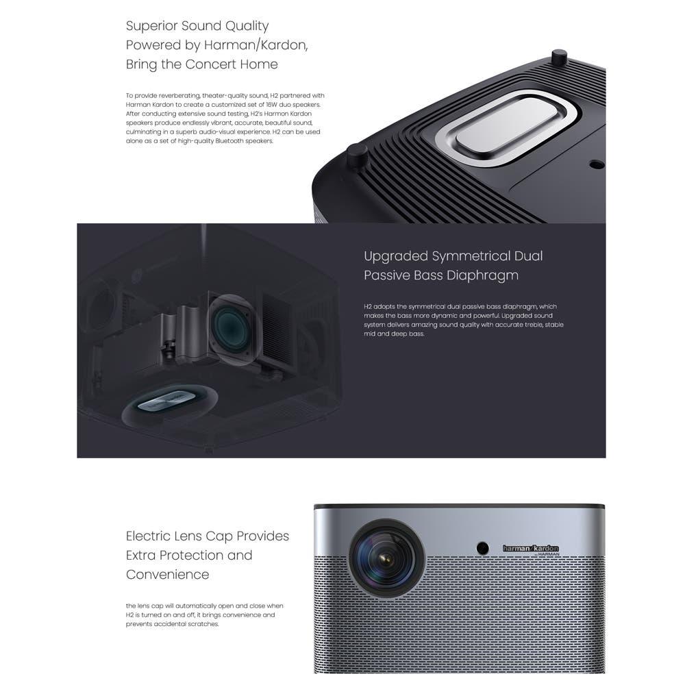 Xiaomi XGIMI H2 Projector & USB 3.0 Enclosure on Sale at AliExpress