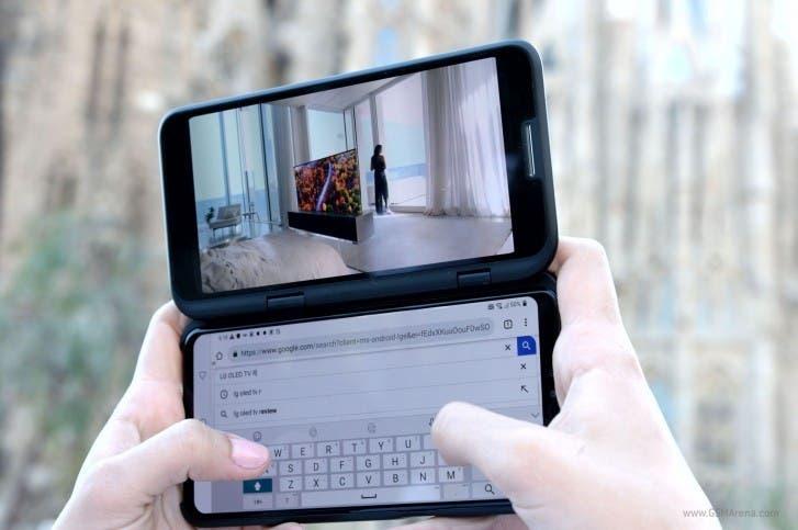 LG dual-screen flagship smartphone