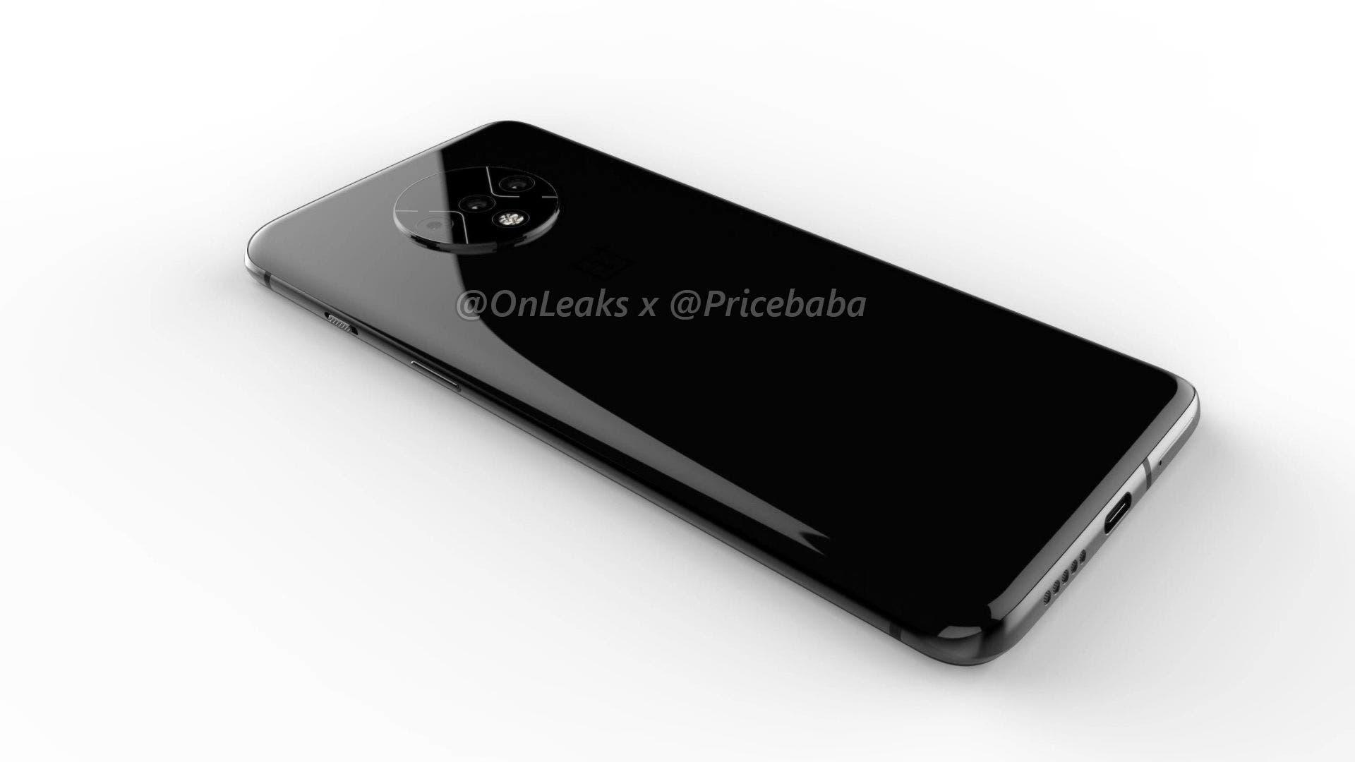 OnePlus 7T rear
